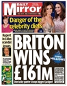 Buy a subscription / subscribe to The Daily Mirror