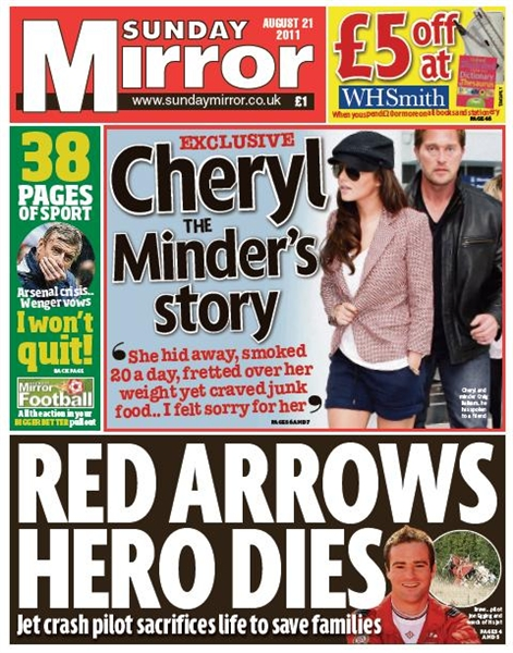 opinions on sunday mirror